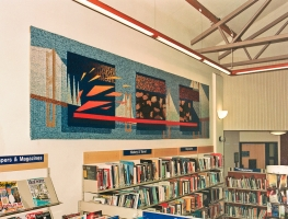 <p>Untitled - Caldicot Library, Monmouthshire</p>