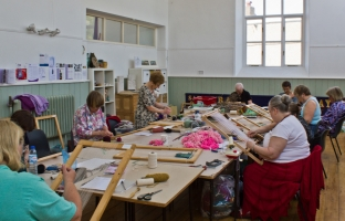 <p>Crickhowell Workshop - Tapestry and Sound</p>