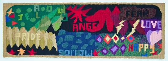 <p>Communal Weaving Project - Emotions</p>