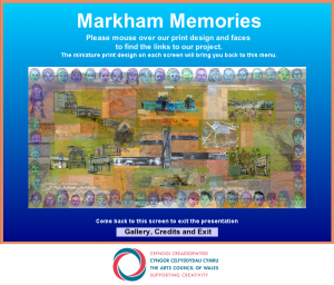 Markham Memories Nav Screen