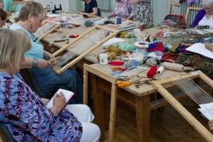<p>Crickhowell Workshop - Tapestry and Sound</p>