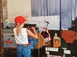 <p>Communal Weaving Project</p>