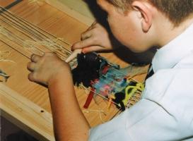 <p>School Weaving Workshop</p>