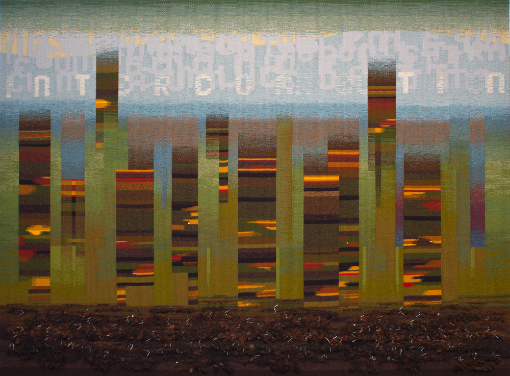 Alastair Duncan tapestry weaving