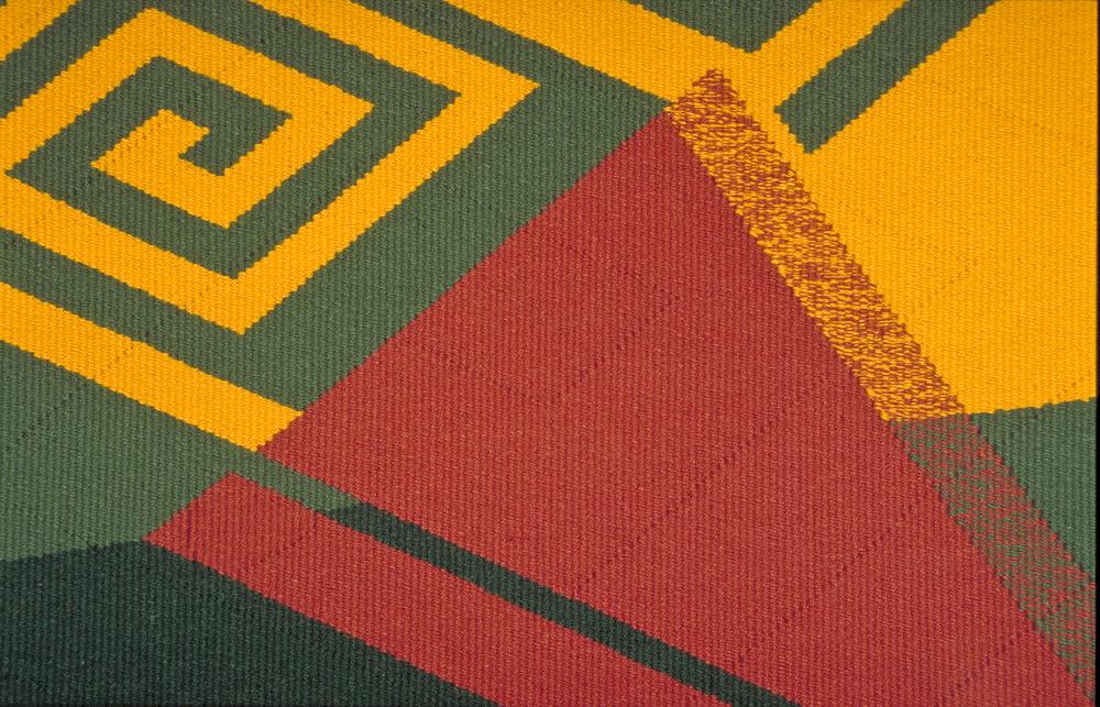 Tapestry weaving - detail